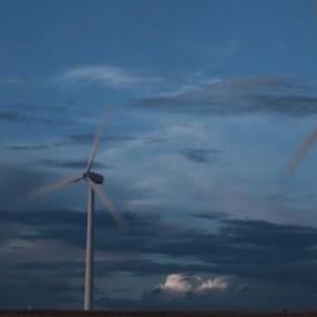 Windmolens donker